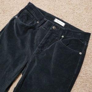 """Madewell 9"""" High Riser Skinny 26 Pants Velvet"""